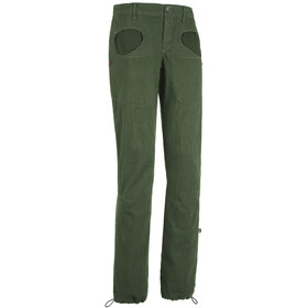 E9 Onda Stars Trousers Women, sage-green